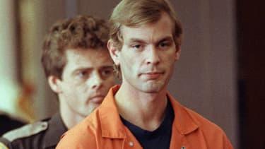 Le tueur en série Jeffrey Dahmer en 1991