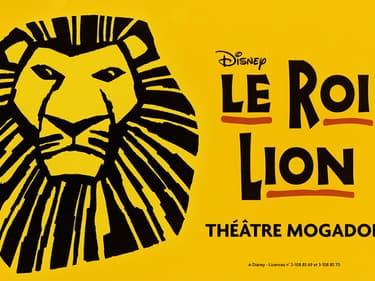 """""""Le Roi Lion"""" revient à Paris au théâtre Mogador."""