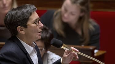 La ministre Valérie Fourneyron à l'Assemblée, en mai dernier.