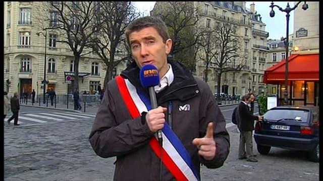 le maire de Sevran, Stéphane Gatignon a annoncé sur BFMTV entamer une grève de la faim devant l'Assemblée nationale..