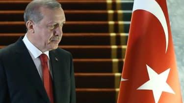 Le président turc Recep Tayyip Erdogan à Ankara, le 24 décembre 2015
