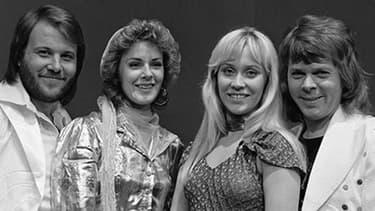 Abba en 1974, l'année où ils ont remporté l'Eurovision.
