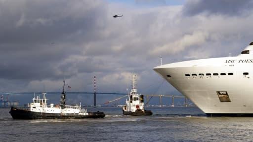 Après deux ans de creux, les chantiers navals de Saint-Nazaire ont décroché un contrat d'un milliard d'euros pour un paquebot de croisière.
