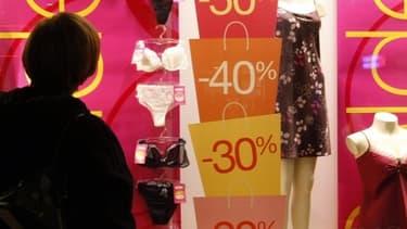 Le reflux observé sur les prix s'explique en grande partie par les démarques dues aux soldes