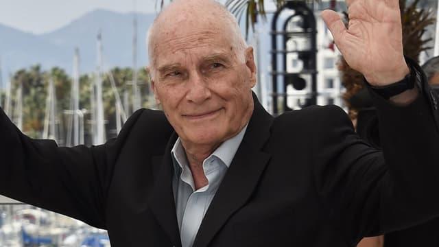 Le réalisateur Barbet Schroeder lors du Festival de Cannes 2015