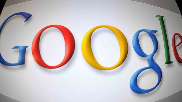 Une capture d'écran du moteur de recherche américain Google.