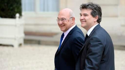 Michel Sapin et Arnaud Montebourg se partageront également l'Insee.