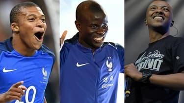 """Mbappé, Kanté et Soprano, les chouchous des 7-14 ans, selon un sondage du """"journal de Mickey""""."""