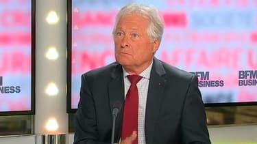 Jean-François Roubaud, le président de la CGPME, était l'invité de BFM Business, lundi 26 août.