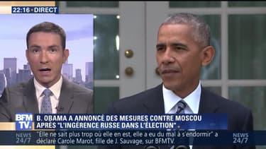 """États-Unis: Barack Obama sanctionne la Russie pour """"ingérence électiorale"""""""