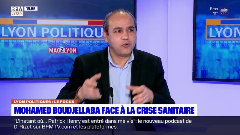 Mohamed Boudjellaba, maire DVG-EELV de Givor, était l'invité de Lyon Politiques ce jeudi 21 janvier 2021