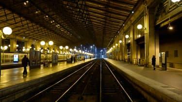 Illustration de la Gare du Nord à Paris.