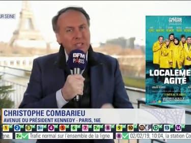 """Scènes sur Seine: casting 5 étoiles pour """"Localement agité"""" avec Thierry Frémont"""