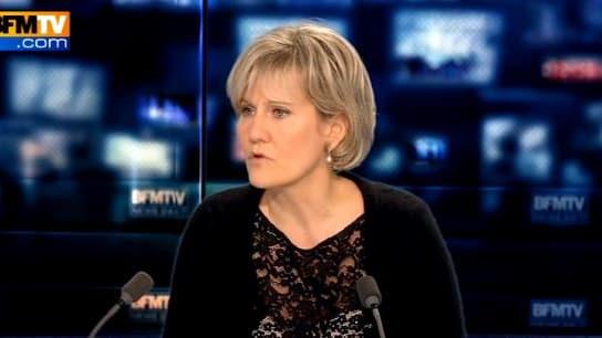 La députée UMP Nadine Morano réagit à la démission de Jérôme Cahuzac, le 19 mars 2013 sur BFMTV