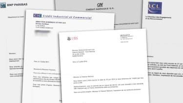 Un courrier de refus d'une banque française envoyé au Front national