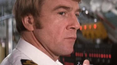 """Bryan Marshall dans """"L'Espion qui m'aimait"""" en 1977."""