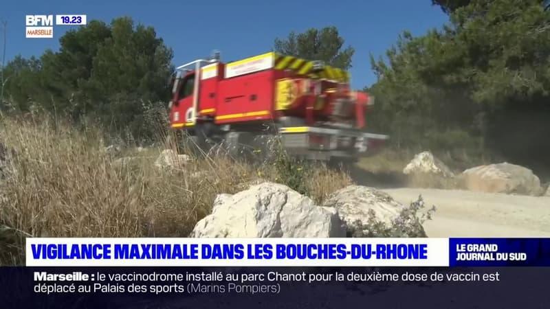 Feux de forêt: cet été, les marins-pompiers des Bouches-du-Rhône s'aideront d'un ballon d'hélium pour repérer les départs de feu