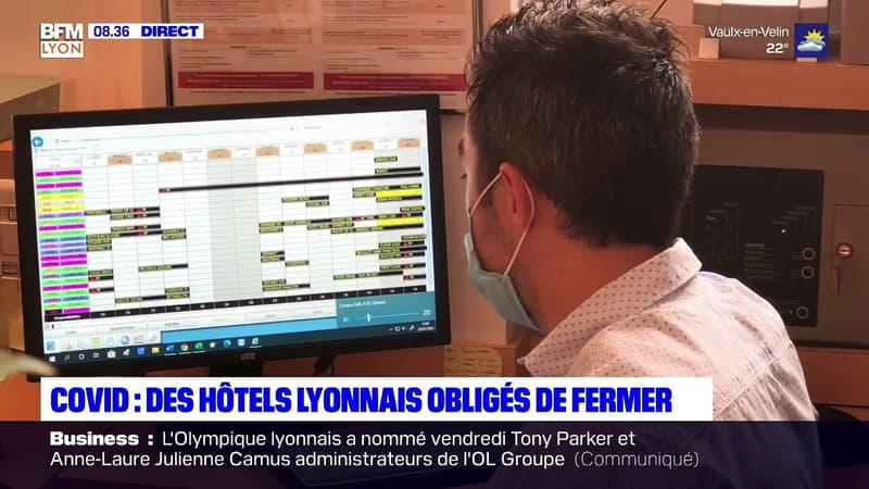 Covid-19: des hôtels lyonnais obligés de fermer temporairement