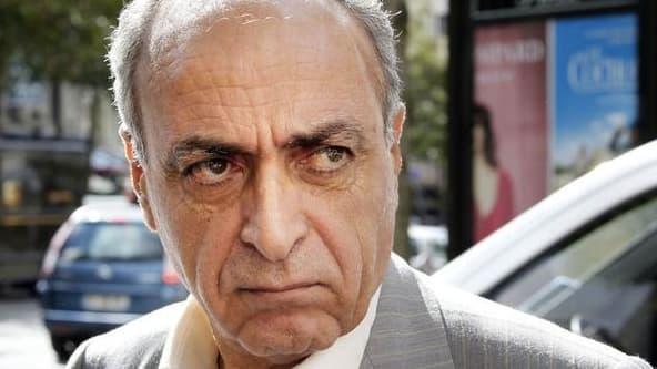 Ziad Takieddine, le 14 septembre 2011 à Paris