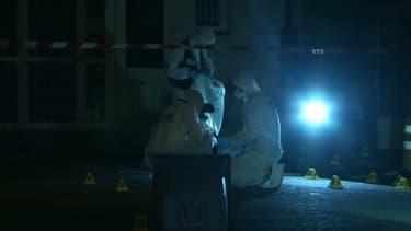 La police judiciaire de Toulon, dans la nuit du 28 au 29 juillet à Ollioules (Var). - Capture BFMTV