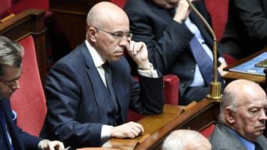 Eric Ciotti (LR) à l'Assemblée nationale le 10 avril 2018