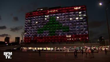 À Paris, Téhéran ou Tel Aviv, les images des hommages aux victimes des explosions à Beyrouth