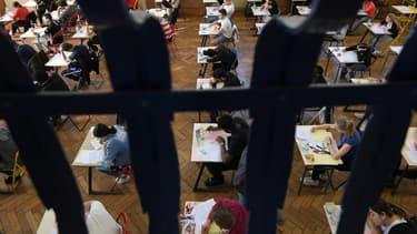 Photo d'illustration d'une épreuve du baccalauréat 2019 à Strasbourg - Frédérick Florin - AFP