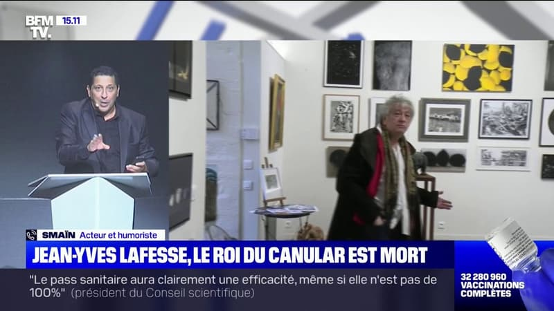 """Smaïn: """"Jean-Yves Lafesse est un des humoristes qui m'a fait le plus rire"""""""