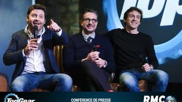 """Philippe Lellouche, Le Tone et Bruce Jouanny dans """"Top Gear France"""""""