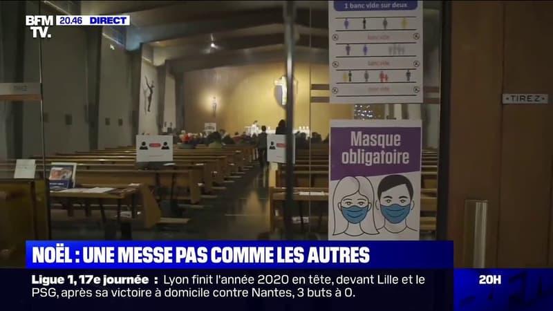 À Neuilly-sur-Seine dans les Hauts-de-Seine, une messe de Noël pas comme les autres