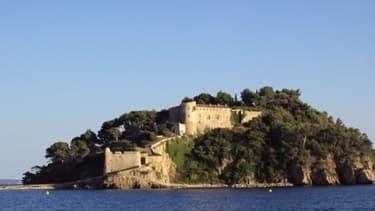 Le fort de Brégançon dans le Var.