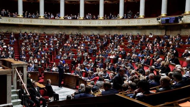 Les députés à l'Assemblé nationale, ce mercredi 12 décembre 2018.