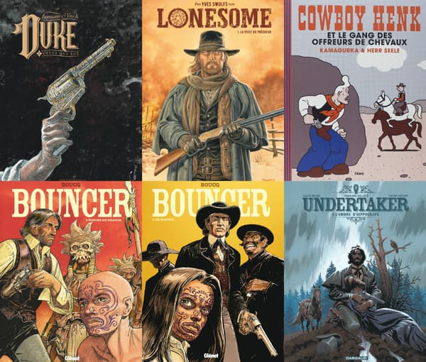 Quelques westerns sortis entre novembre et mars.
