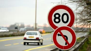 L'abaissement de 90 km/h à 80 km/h de la vitesse maximale sur 400.000 km de routes secondaires à double sens sans séparateur central doit entrer en vigueur au 1er juillet