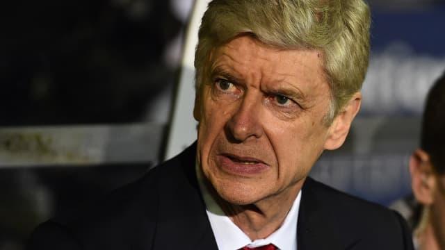 Arsène Wenger, le manager d'Arsenal