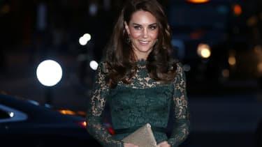Kate Middleton en mars 2017 à Londres