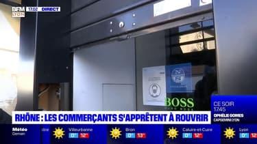 Rhône : les commerçants s'apprêtent à rouvrir