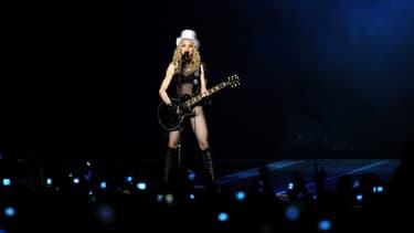 Madonna en concert, le 16 septembre 2008