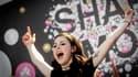 """Chanteuse amatrice et inconnue du public il y a quelques mois, Lena Mayer-Landrut, 19 ans, a offert samedi la victoire à l'Allemagne lors du 55e concours Eurovision avec """"Satellite"""", un titre aux accents de pop britannique. /Photo prise le 29 mai 2010/REU"""