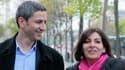 Anne Hidalgo et Christophe Najdovski, représentants du PS et d'EELV, ont trouvé un accord en vue du second tour.