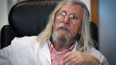 Le Professeur Didier Raoult à Marseille, le 26 février 2020