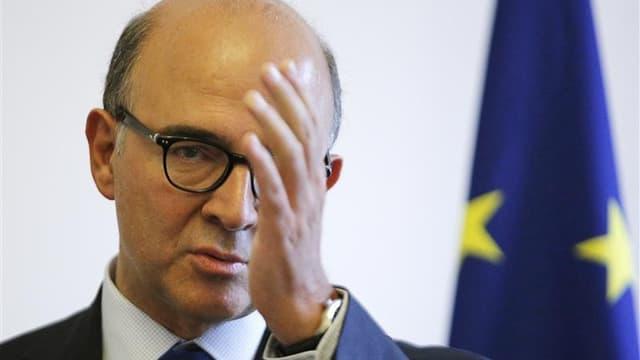 Le ministre de l'Economie et des Finances Pierre Moscovici estime qu'une croissance de 0,8% de l'économie française en 2013, telle que la prévoit le projet de budget du gouvernement, est possible si l'Europe sort de la crise de la zone euro et retrouve de
