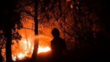 Incendie à Carnoux-en-Provence en août 2017