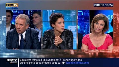 François Bayrou face à Juliette Méadel dans BFM Politique