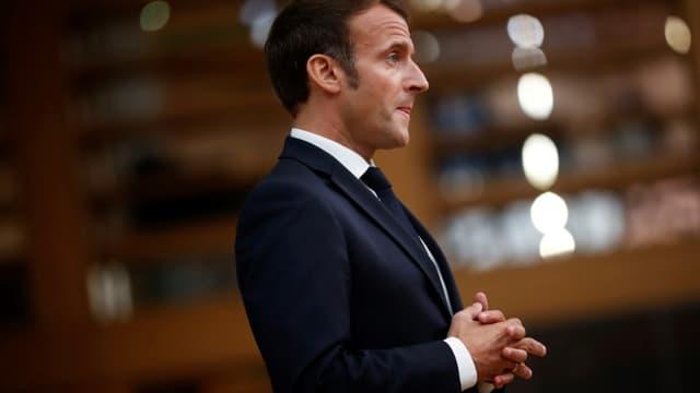 Emmanuel Macron le 1er octobre 2020 à Bruxelles