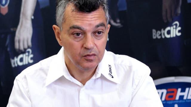Rémy Lévy, président de Montpellier Handball