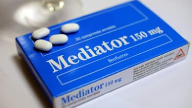 Une boîte de comprimés de Mediator en novembre 2010 à Brest
