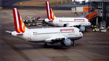 Le mouvement de grève initié par Eurowings et Germanwings, filiales de Lufthansa affecte 40.000 passagers. (image d'illustration)