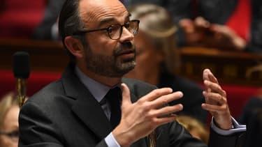 Edouard Philippe répondait aux questions des députés.