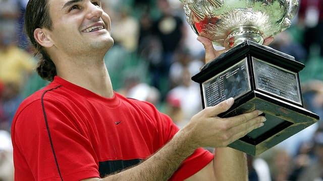 Roger Federer en 2004